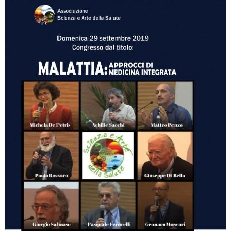 """Doppio DVD del congresso """"MALATTIA: APPROCCI DI MEDICINA INTEGRATA"""" - Treviso"""
